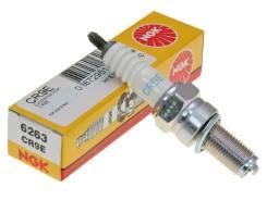 Свеча зажигания NGK 6263 CR9E MOTO. Цена за 1 шт.