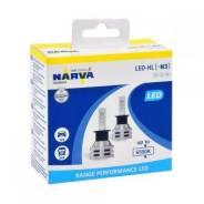 Лампы светодиодные Narva LED H3, 6500K. Диод. Комплект