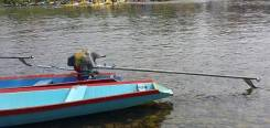 LTB-мотор, лодочный мотор весло вездеход,190F MAC2 (15 лс, цельный вал)
