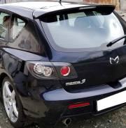 Задний спойлер со стопом на Mazda 3 (Мазда 3) хэтчбек 2004-2009г