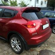 Верхний спойлер на крышку багажника Nissan Juke (Ниссан Жук)