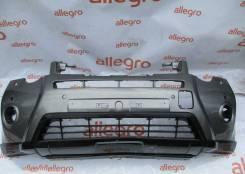 Nissan Xtrail T31 Бампер передний серый