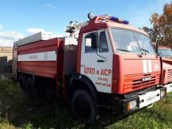 Пожарная машина на шасси Камаз 53229