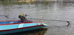 LTB-мотор, лодочный мотор весло вездеход, KP460 MAC3 (20 лс, цельный вал)