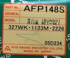 Колодки тормозные дисковые передние FBL AFP-148S комплект