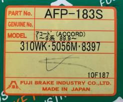 Колодки тормозные дисковые задние FBL AFP-183S комплект