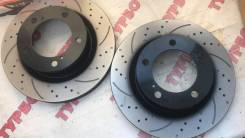 Комплект дисков тормозных передний перфорированные Lexus LX570