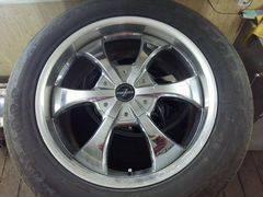 Комплект колёс на ленд крузер