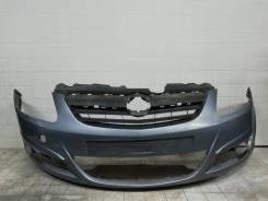 Бампер Opel Corsa D Дорестайлинг 2006-2010 [332550271], передний