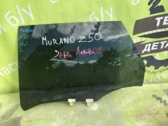 Стекло двери Nissan Murano Z50 [82301CA00A], заднее левое