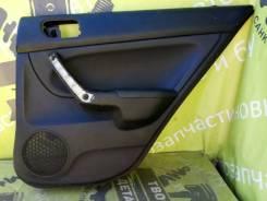 Обшивка двери Honda Accord 7 2007г. в. K24A3, задняя правая