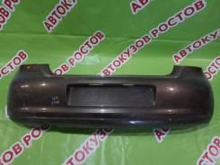 Бампер задний Volkswagen Polo 2009- [6R6807421Bhgru] V HB