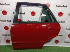 Дверь Mazda Familia S-Wagon 1999 BJ8W FP-DE, задняя левая