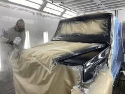 Кузовной ремонт авто. покраска в покрасочной камере. Кузовные работы.