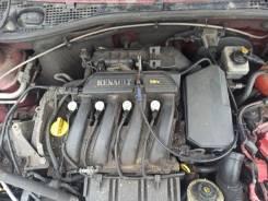 Двигатель Renault Sandero 2011 [D129879] 1.6