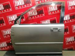 Дверь боковая Nissan X-Trail 2000-2007, левая передняя