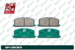 Колодки тормозные перед Toyota Corolla / Sprinter / RAUM / Spacio / Caldina, , шт Gbrake GP02023