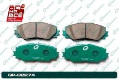 Колодки тормозные перед Toyota Premio / Allion 05-12 / RAV 4 05- / Corolla 06-13, , шт G-Brake GP02274