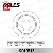 Диск тормозной Mitsubishi Pajero 90-/Space GEAR 95-00 задний D=315мм. (TRW DF4075) K010512, , шт Miles K010512