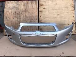 Бампер Chevrolet Aveo 2011-2015 [95019927] T300, передний