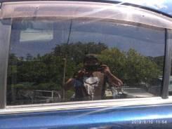 Стекло двери Toyota Avensis 2003-2009 AZT250 1AZ, заднее левое