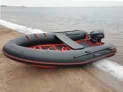 Надувная лодка из ПВХ Badger Heavy Duty 430 AL