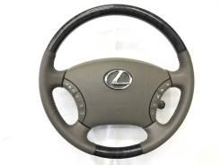 Оригинальный обод руля c косточкой под черное дерево Lexus