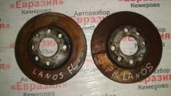Диск тормозной Chevrolet, Daewoo, ЗАЗ Lanos, Nexia, Шанс 2008, передний