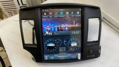 """Магнитола в стиле Tesla для Mitsubishi Lancer X (2007-2016) 12,1"""""""