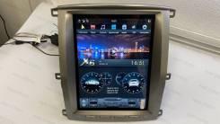 """Магнитола в стиле Tesla для Land Cruiser 100 (2002-2007) 12.1"""""""