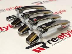 Накладки на ручки Toyota Land Cruiser (J200) 07-15 год новые комплект.