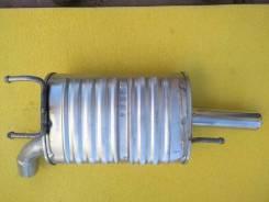 Глушитель, задняя банка для Suzuki Liana, Aerio, Polmostrow (Польша), 340x235x150, диаметр трубы 52мм, выпускная труба из нержавейки. Новый