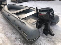 Лодка Abakan 420 jet + водомёт Mercury 25