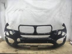 Бампер BMW X6, передний