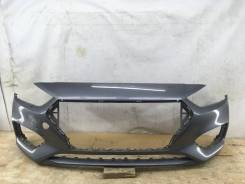 Бампер Hyundai Solaris, передний