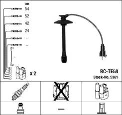 Провода зажигания к-т RC-TE58 5361