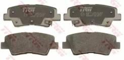 Колодки тормозные дисковые | зад | TRW 'GDB3537