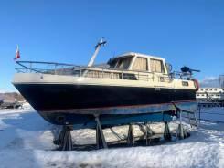 Стальная голландская яхта Tjeukermeer 9.40