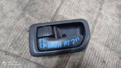 Ручка двери внутреняя Toyota Carina, левая передняя AT211
