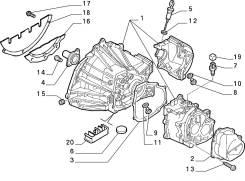 Магнит кпп Peugeot Boxer3-Fiat Ducato3- 2.2-2.3