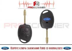 Корпус ключа зажигания Ford (3 кнопки, F021)