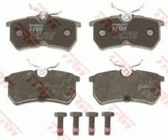 Колодки тормозные задние FORD Focus I 1998-2004 / Fiesta 2005-