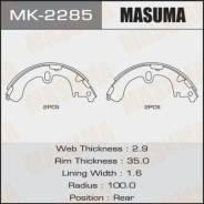 Колодки барабанные Masuma R-1051 MK-2285