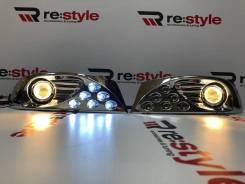 Туманки LED Toyota Land Cruiser Prado (J120) 2002-2009 год комплект.