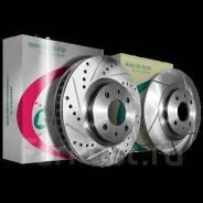 Перфорированные тормозные диски | низкая цена | доставка по РФ