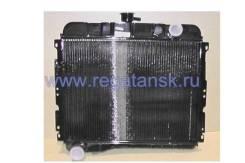 Радиатор водяной ГАЗ 24, 31029 Волга, медный, 2-х рядный