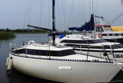 Bellona 23 (Швеция) - парусная яхта, с максимальным парусным вооружен
