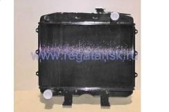 Радиатор водяной УАЗ 469, 3151 дв. УМЗ 4179.10, УАЗ 452, 31512, 3909, 2206, 39094 дв. УМЗ 4178.10, медный, 2-х рядный