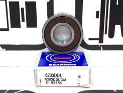 Подшипник ролика натяжного приводного ремня NSK 6203Dducm