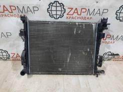 Радиатор охлаждения Renault Sandero Stepway 2 2018 [214105731R] 5S, передний